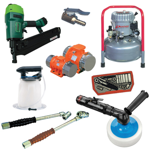 Vibration Products, Air Tools & Garage Equipment