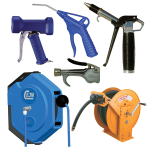 Blow & Water Guns, Hose Reels & Balancers