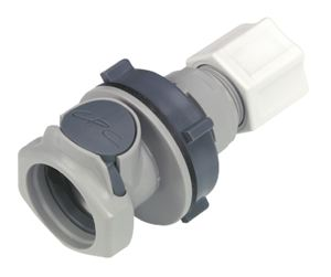 BULKHEAD PANEL MOUNT - VALVED