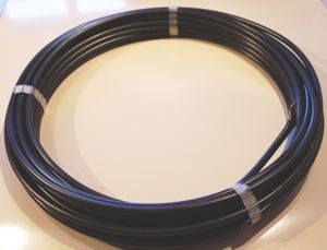 BLACK  PVC COVERED COPPER TUBE