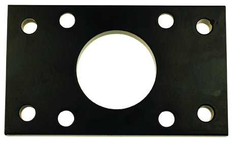 FRONT OR REAR FLANGE