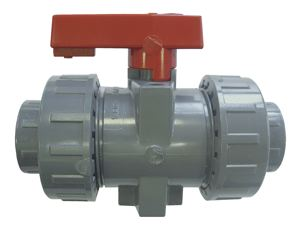 INDUSTRIAL DOUBLE UNION for solvent welding - ABS