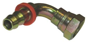 90º SWEPT ELBOW SWIVEL - 60º CONE