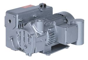 V-VGD SERIES - OIL FLOODED ROTARY VANE VACUUM PUMP - 1ph 50/60Hz 230V MOTOR