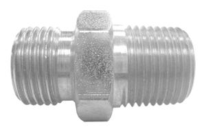 STRAIGHT ADAPTOR WITH LOCKNUT