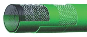 10 BAR CHEMICAL HOSE - H-UHMWPE - GREEN