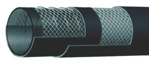 10 BAR WATER SUCTION  AND DELIVERY HOSE - H-WSDH - BLACK