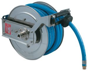 REEL WITH HOSE FOR FOOD QUALITY