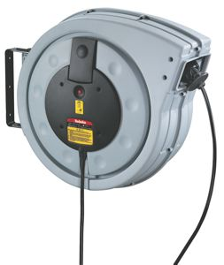 COMPACT SPRING REWIND CABLE REEL