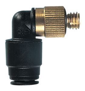 MINIATURE SWIVEL ELBOW