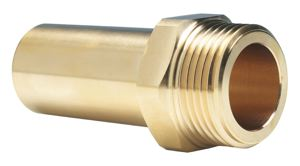 MALE BRASS STEM ADAPTOR