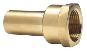 FEMALE BRASS STEM ADAPTOR