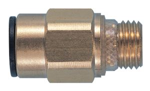 STRAIGHT ADAPTOR with integral seal