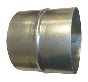 HOSE CONNECTOR - GALVANISED STEEL - FOR FLAMEX BF DUCTING