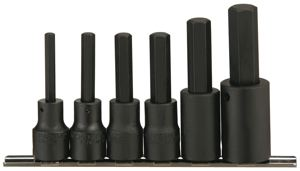 METRIC IMPACT HEX BIT SETS