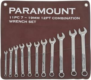 COMBINATION METRIC WRENCH SET