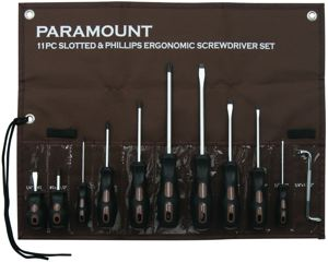 SCREWDRIVER SET - ERGONOMIC SLOTTED & PHILLIPS