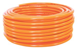 HIGH VISIBILITY REINFORCED PVC AIR HOSE - ORANGE