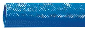 BLUE LAY FLAT WATER DISCHARGE HOSE - 100m COILS