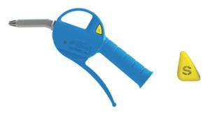 SILENCED BLOW GUN WITH PLASTIC NOZZLE