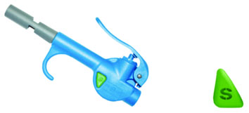 COMPACT BLOWGUN WITH FLOW RATE MULTIPLIER & PLASTIC NOZZLE