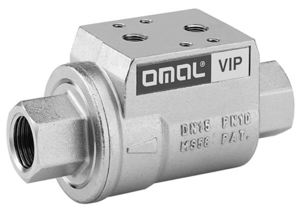 VIP VALVE - BUNA SEALS, SPRING RETURN, NO