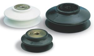 SILICONE - TYPE 4 BELLOWS WITH SUPPORT