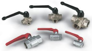 HAND OPERATED VACUUM VALVES