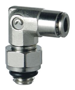 STUD SWIVEL ELBOW with o-ring