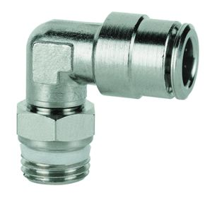 STUD SWIVEL ELBOW with sealing ring