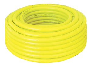 HIGH VISIBILITY REINFORCED PVC AIR HOSE - YELLOW