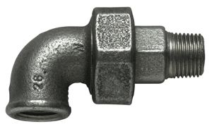 90° UNION ELBOW - BSPT MALE / BSPP FEMALE