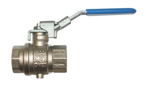 VENTING LOCKABLE BALL VALVE