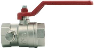 STANDARD FLOW WITH DRAIN VALVE