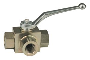 3-WAY SELECTOR BALL VALVES