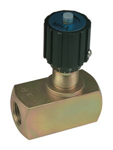 FLOW CONTROL VALVES C/W CHECK VALVE