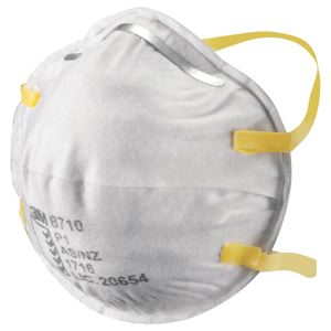CUP-SHAPED RESPIRATOR