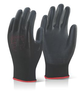 PUGGIES PU COATED GLOVES
