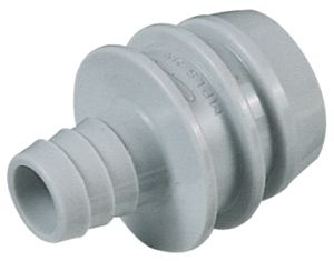 STRAIGHT CLEAN-IN-PLACE ADAPTOR UN-VALVED