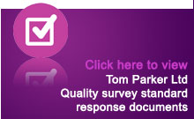 Quality survey standard response documents
