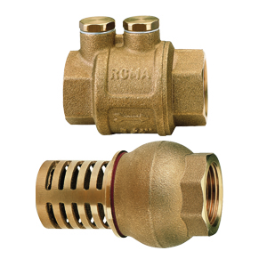 """Water Non Return Valve One Way 1/"""" 1.1//2/"""" Barb"""