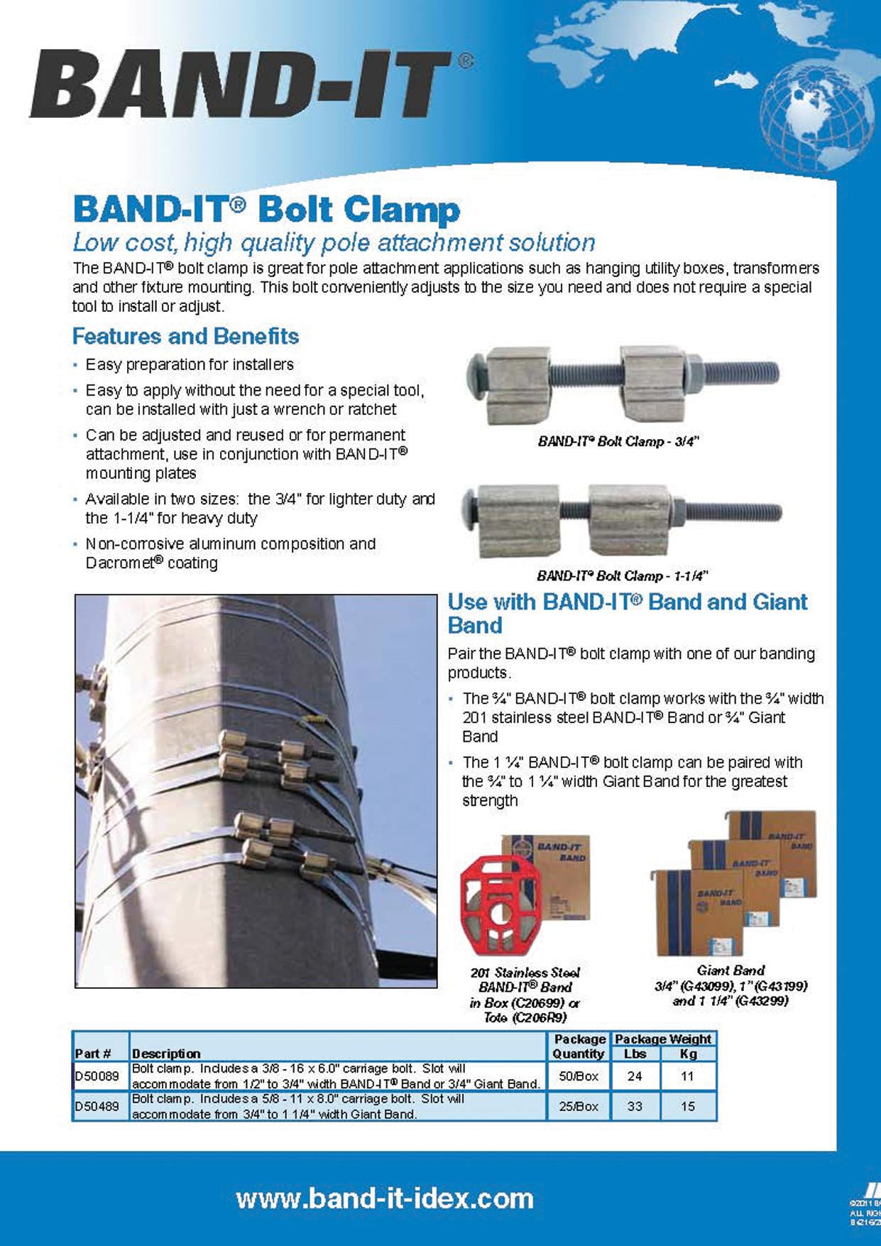 Bolt Clamp Brochure