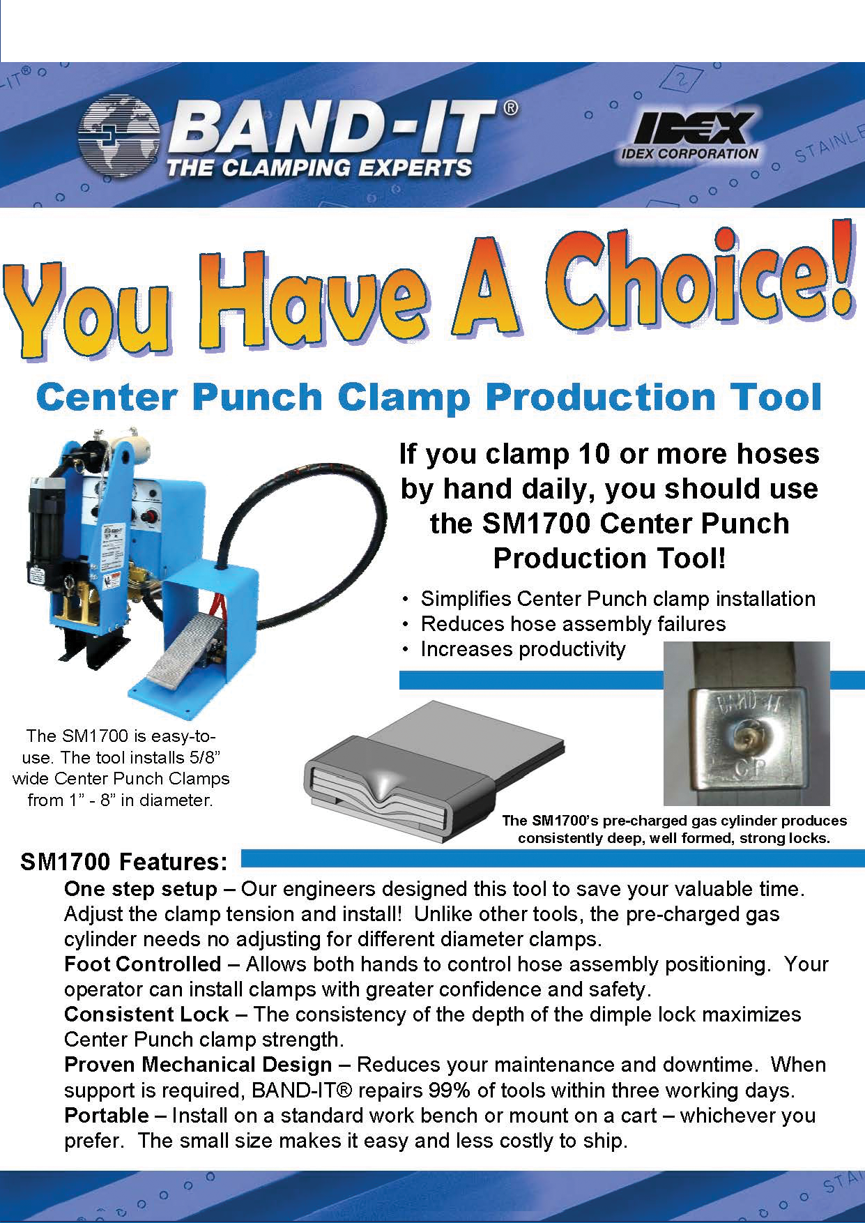 Center Punch Clamp Production