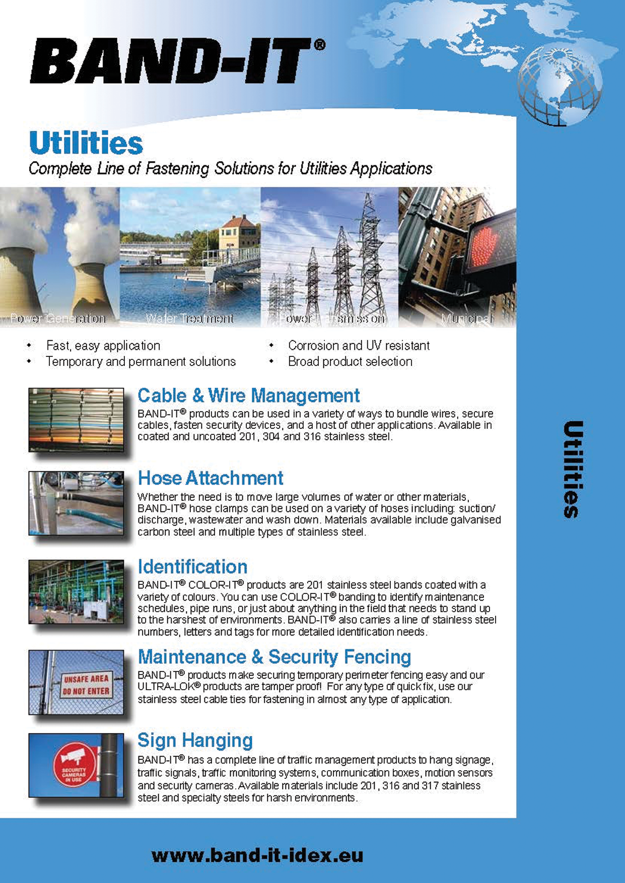 Complete Line of Fastening Solutions for Utilities