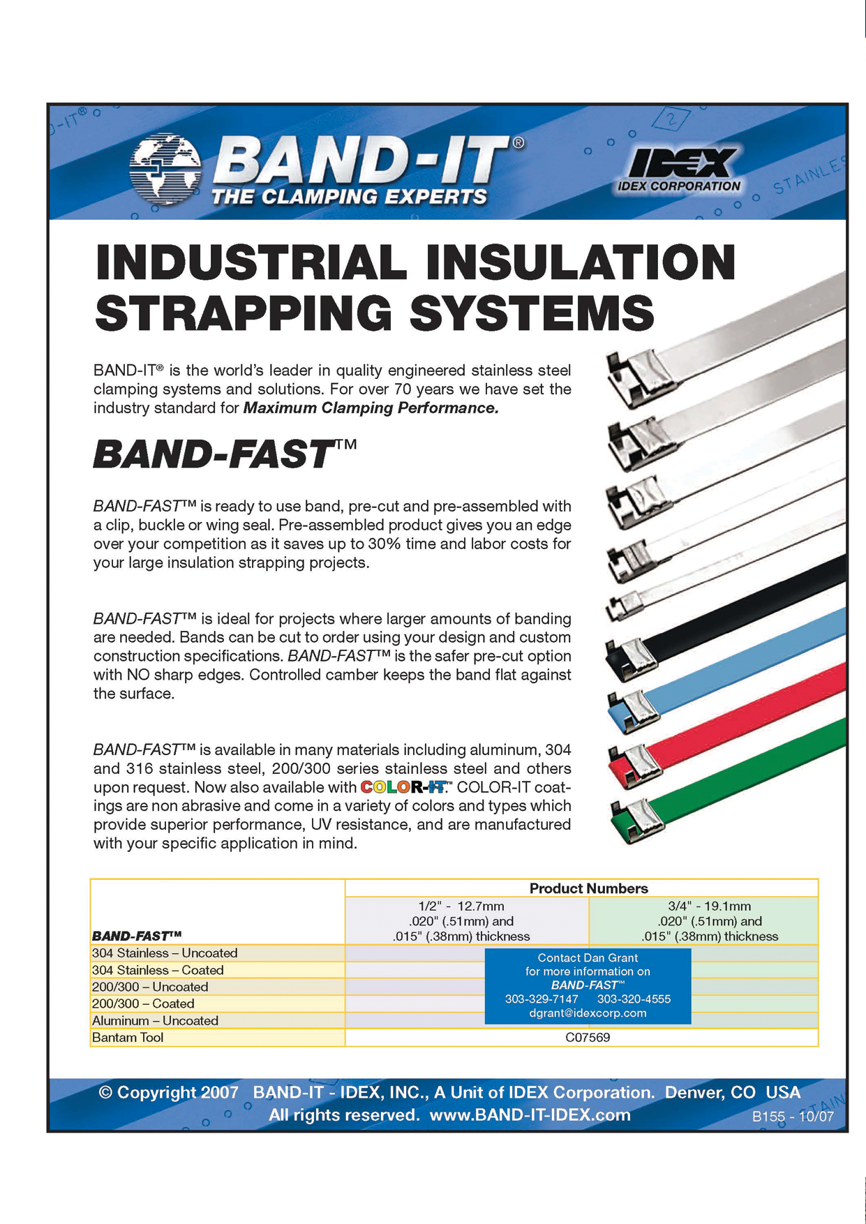 Industrial Insulation Strapping Systems