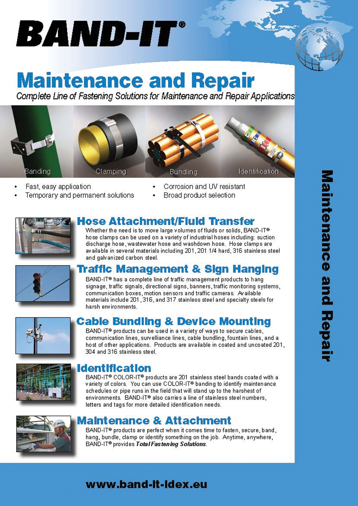 Maintenance and Repair - Complete Line of Fastening Solutions for Facility Maintenance Applications