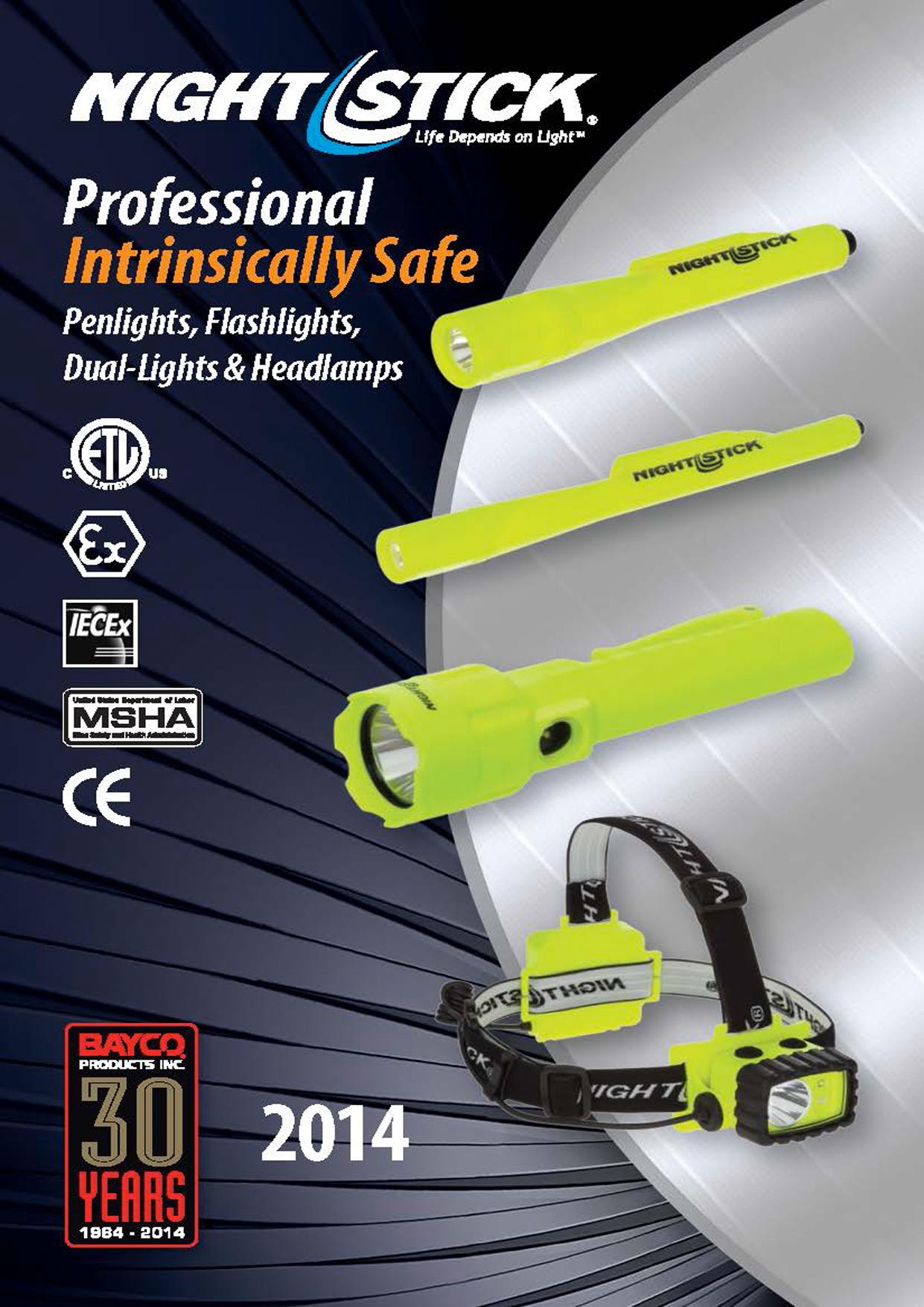 Intrinsically Safe Lights Catalogue