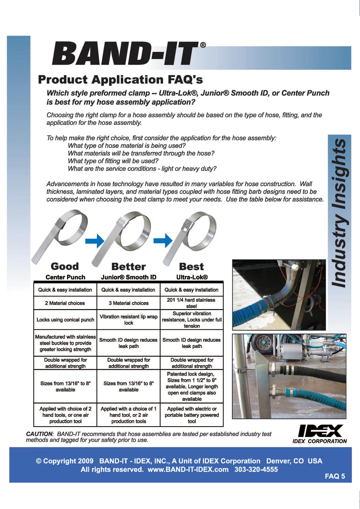 Product Application FAQ's