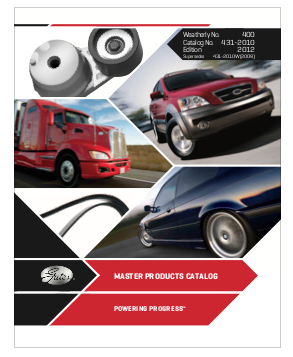 Master Products Catalogue