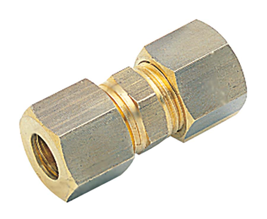 AIGNEP - STRAIGHT CONNECTOR TUBE OD: 8 mm - Part number A13460-08